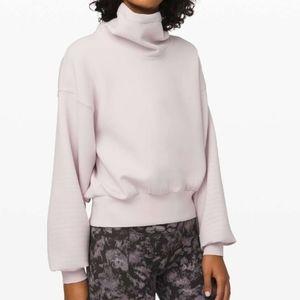 Lululemon Full Flourish Pullover  Light Chrome